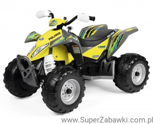 Peg Perego Polaris Outlaw 12V Citrus !!!